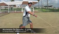 Lecciones de Tenis Gratis - Movimiento de Derecha Tenis