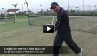 Tenis Online Golpe de reves a dos manos